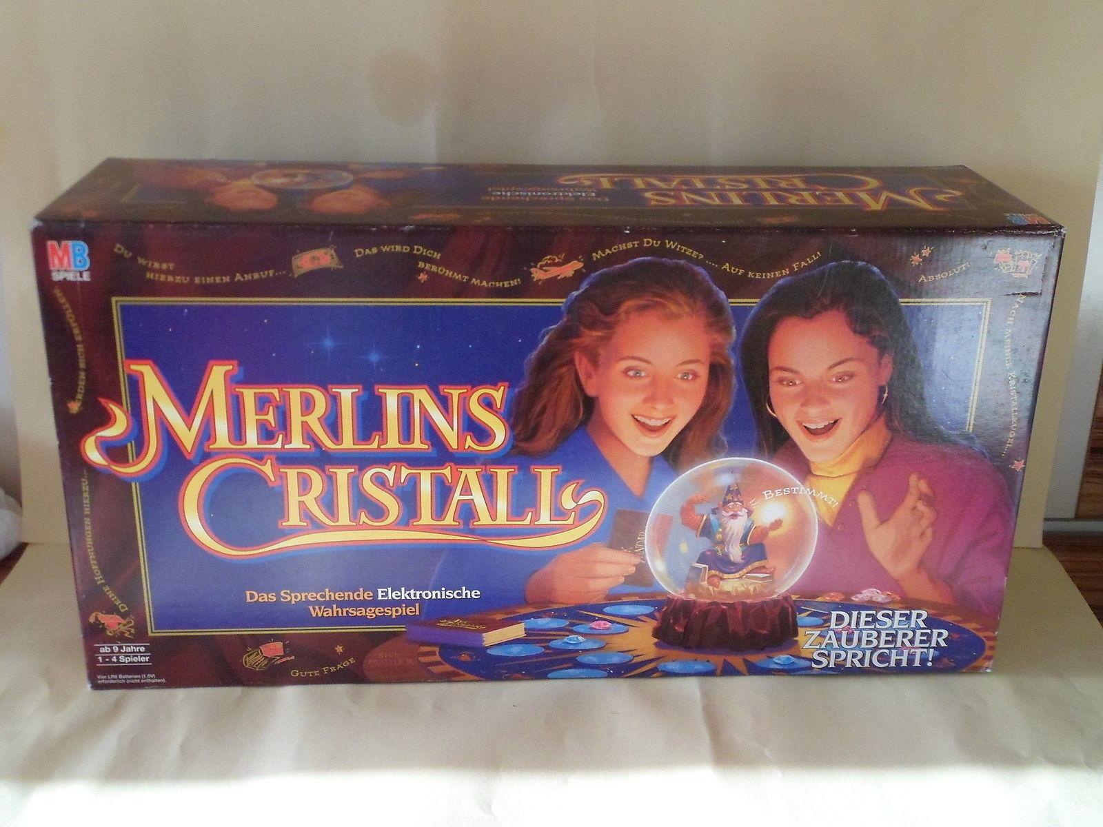 MB Spiele Merlins Cristall das Sprchende Wahrsagerspiel von 1994 neu Lgerfund