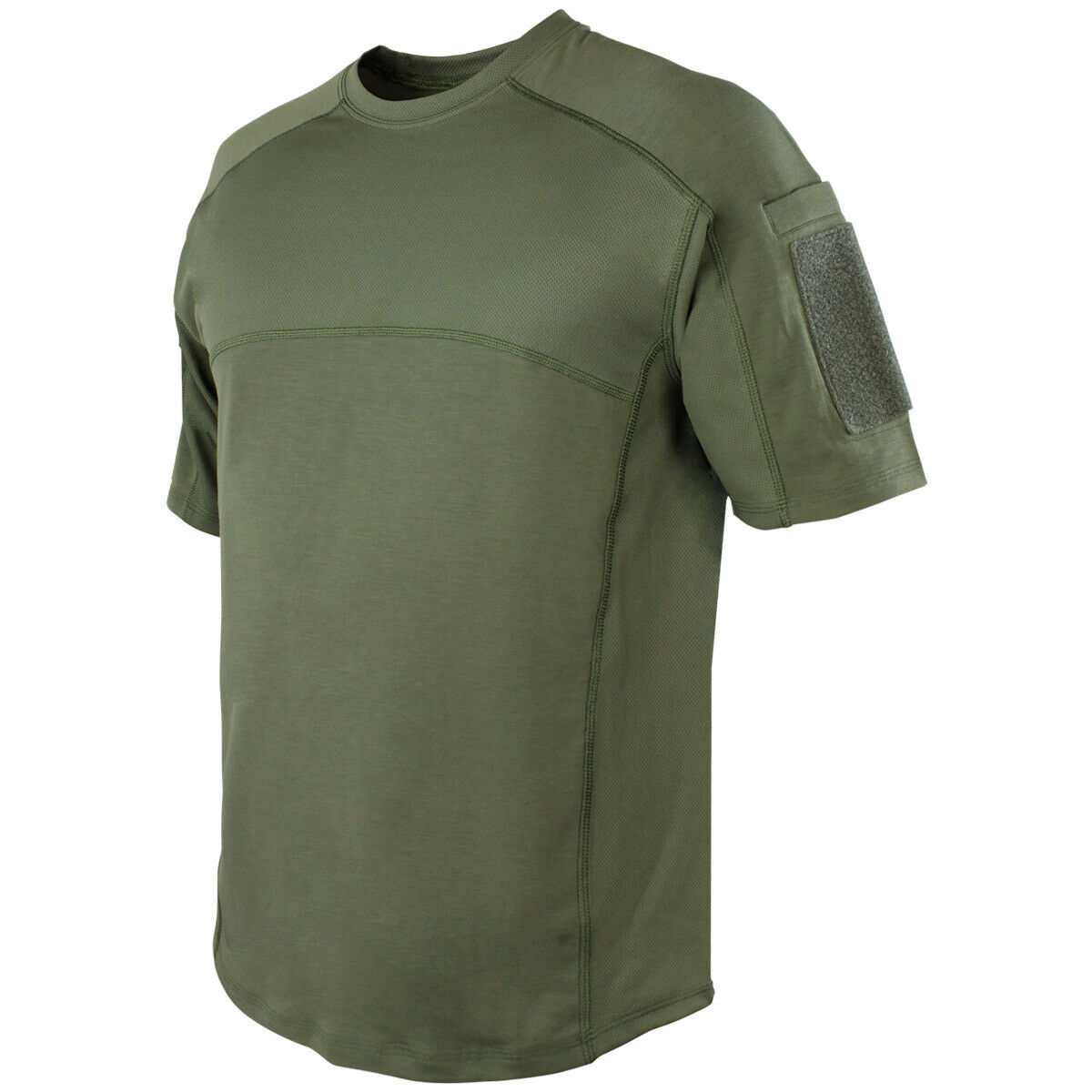Condor Trident Battle Top Army Tactical Mens Casual T-shirt Summer Olive Drab