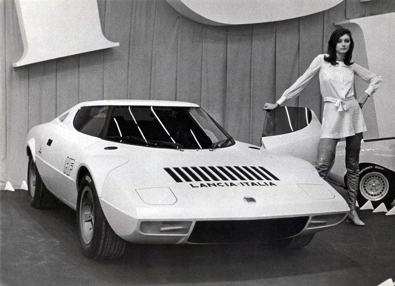 LANCIA STRATOS 1971 Blanc-HPI  8448 résine 1 43