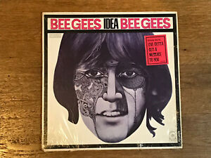 Bee-Gees-LP-in-shrink-w-Hype-Idea-Atco-SD33-253-1968-Stereo