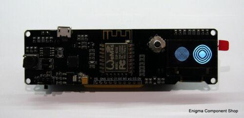"""0.96/"""" OLED Wemos ESP-8266 Board UK Seller Fast Dispatch. Battery Holder"""