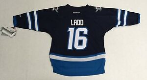 New-NHL-Winnipeg-Jets-Andrew-Ladd-16-Reebok-Toddler-Hockey-Jersey-2T-4T