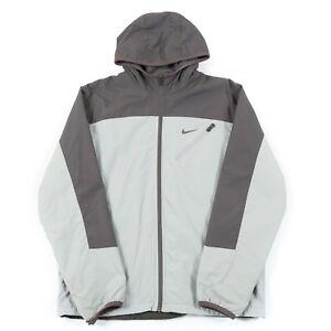72eead4994c4 Image is loading NIKE-Fleece-Lined-Waterproof-Jacket-Men-s-M-Retro-
