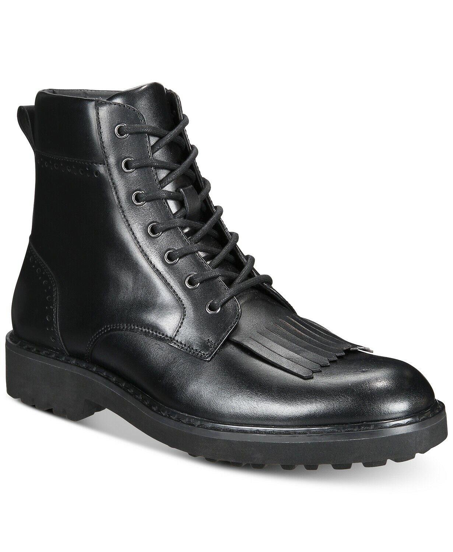 Concepts para hombre Brix I.N.C. International Lengüeta Cuero botas Negro 10