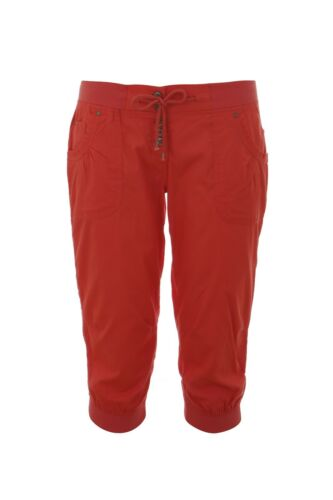 Ladies 3//4 Shorts Cropped Capri Cotton Trousers New Ex Store Size 10-18