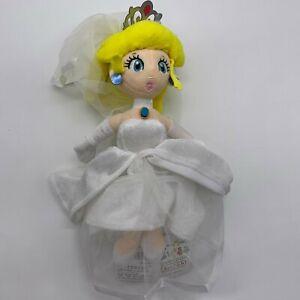 Super Mario Odyssey Princess Peach Plush Wedding Costume Doll Soft Toy Teddy 11 Ebay