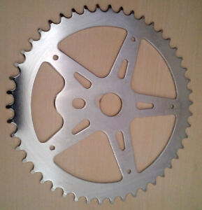 New 52t BMX Bike Chainring For One Piece Cranks