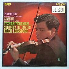 PROKOFIEFF SIBELIUS ITZHAK PERLMAN Sinfonica de Boston ERICH LEINSDORF LSC 2962