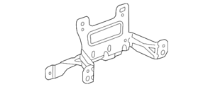 Genuine GM Console Assembly Front Bracket 22776807