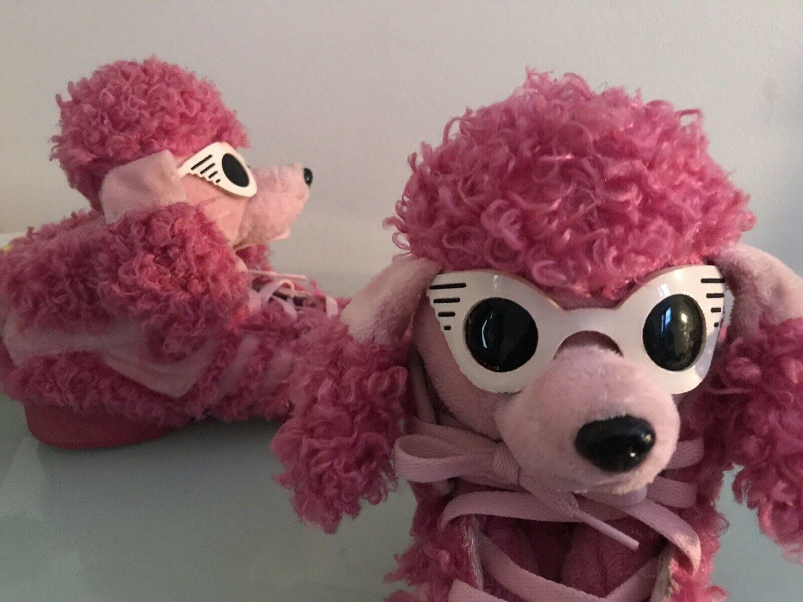 Jeremy Scotts Pink Poodle W  Glasses Sz 8