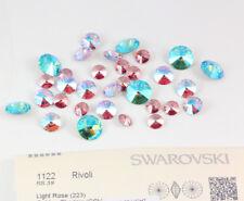 Genuine SWAROVSKI 3009 Rivoli Square Buttons Crystal Color Foiled Many Sizes