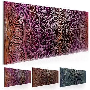 Leinwand Bilder Xxl Fertig Aufgespannt Wandbild Mandala Ornament