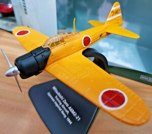 Mitsubishi-Zero-A6M2-21-Training-1944-Scala-1-72-Die-Cast-Oxford-Aviation