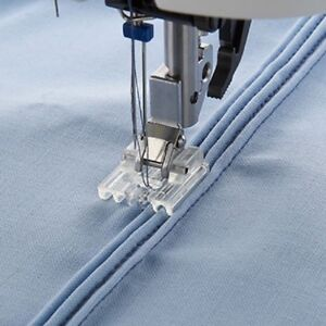 DOMESTIC SEWING MACHINE CLIP ON PIN TUCK FOOT