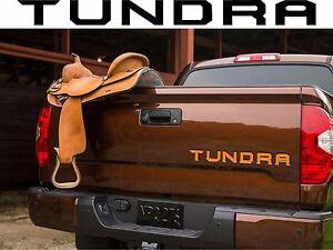 Toyota Tundra Tailgate Graphics Custom Color Vinyl Decal - Custom tundra truck decals
