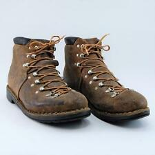 Vintage Roccia Men Brown Leather Mountaineering Hiking Trail Boots 7.5 N