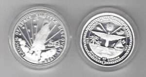 MARSHALL-ISLANDS-SILVER-PROOF-50-COIN-1989-YEAR-KM-12-SPACE-SHUTTLE-DISCOVERY