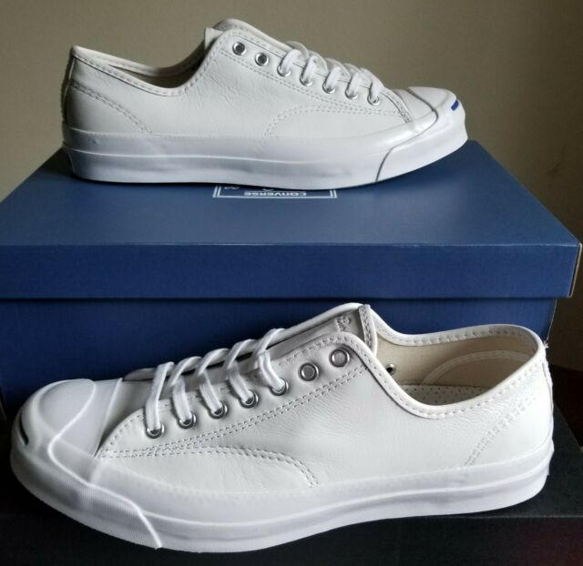 8f460d5e8766fc Converse Jack Purcell Signature Ox Shoes Men 11 White Leather 149909c