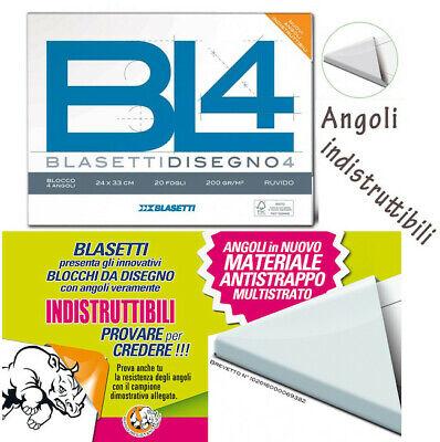 Album Blasetti Liscio Riquadrato F4 24 x 33 cm 20 fogli 220 gr.