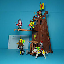 Playmobil Ritter/Knights ~ Angriffsturm / Siege Tower (3887) & Anleitung/Manual