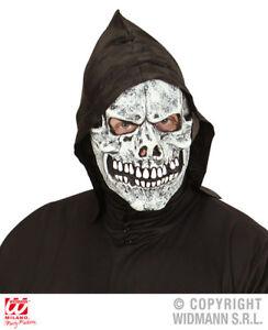 Adaptable À Capuche Crâne Masque Squelette Reaper Ghost Halloween Accessoire Robe Fantaisie Gagner Une Grande Admiration