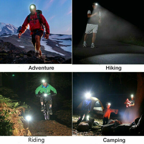 Rechargeable Head Torch Headlamp Work Light Lamp 6000LM CREE T6 LED Flashlight