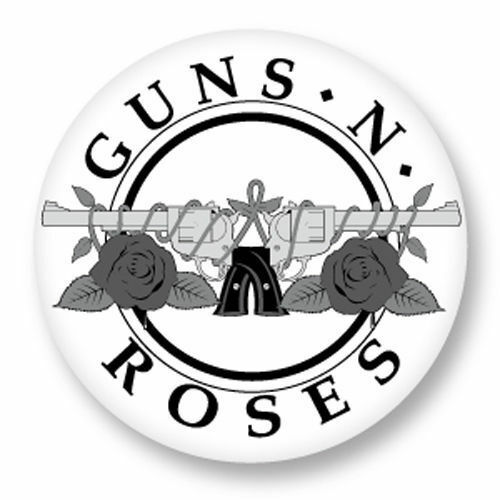 Magnet Aimant Frigo Ø38mm Guns N/' Roses GN/'R GNR Hard Rock Axl Rose