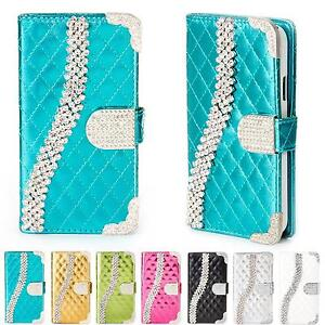 Bling-Case-Glitter-Cover-Shock-Proof-Flip-Wallet-Rhinestones-Stand-Card-Pocket