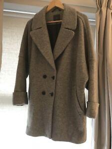 laine taille Manteau mélange doublé femmes pour de 16 18 aqwrdq0