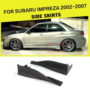 Auto Seitenröcke Schürzen Hintere Spats Strake Covers Für Subaru
