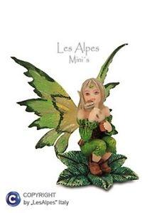 Les-Alpes-Mini-Fairies-Fairies-Seated-On-Leaf-7CM-032-003