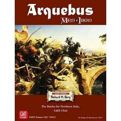 Men Of Iron: Arquebus, New By Gmt, English