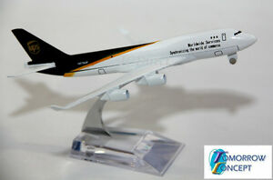 16cm-1-450-UPS-Airplane-Aeroplane-Diecast-Metal-Plane-Toy-Model