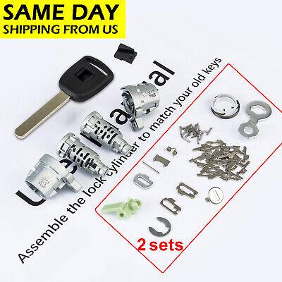 Front Driver Left Door Lock Cylinder w// Keys Genuine for Honda CR-V Element