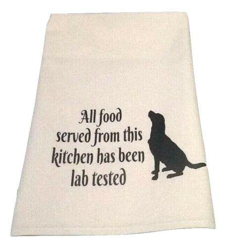 Free post in Aust. Labrador Lab Labradoodle dog lover Quality print tea towel