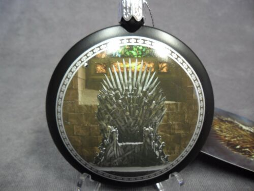 Christmas Holiday Ornament Game of Thrones NEW Iron Throne Disc Ornament