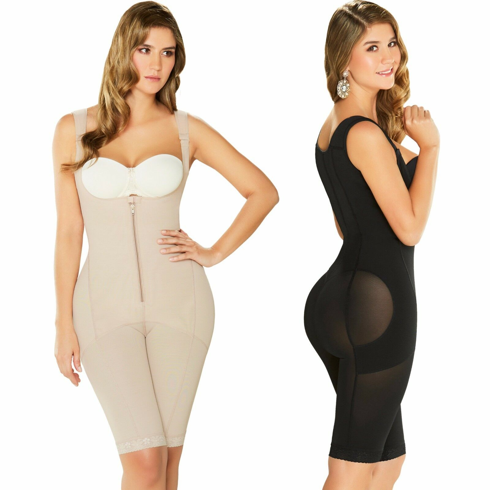 Fajas Diane & Geordi 2397 Colombiana Post Surgery Compression Garments Full Body