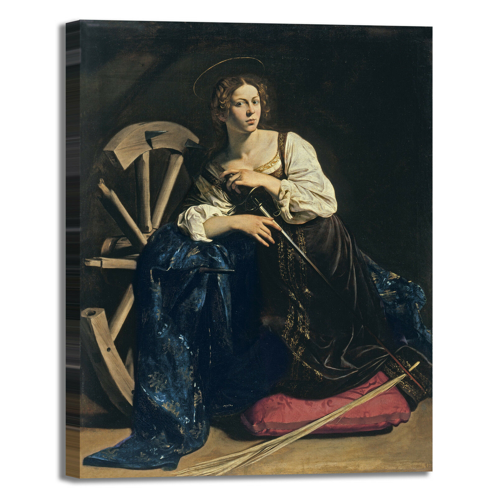 Caravaggio d'Alessandria santa Caterina d'Alessandria Caravaggio quadro stampa tela dipinto arRouge o casa cffb1c