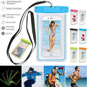 Sport-Waterproof-Pouch-Dry-Bag-Fluorescent-Case-For-iPhone-X-Xs-Max-6s-7-8-Plus