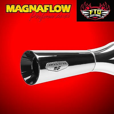 MagnaFlow F-Bomb Chrome 2 into 1 Exhaust Harley Softail 1996-2016 7212401