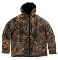 Xl Lg Realtree Xtra Bomber Jacket Men's Insulated Hooded Camo Hunting Coat