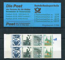 Berlin MH 15 postfrisch Markenheftchen Sehenswürdigkeiten Michel 60,00 Euro MNH