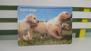 GUIDE-DOGS-WOODEN-CHARITY-PUZZLE-GUIDE-DOGS-QUEENSLAND-PROMOTIONAL-JIGSAW