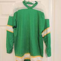 Old Style Blank Minnesota North Stars Hockey Jersey Boys X-large