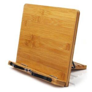 Vassoio-e-Pagina-Porta-Libri-Regolabili-Clips-Cookbook-Banco-di-Lettura-Rob-S6S7