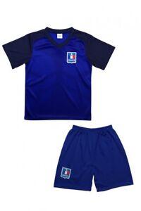 France-Enfants-Maillot-de-Football-Pantalon-Equipe-National-Equipe