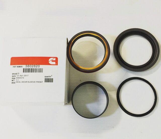 Cummins Front Main Crankshaft Oil Seal Wear Sleeve 89-15 6BT 3.9 5.9 12V 3802820