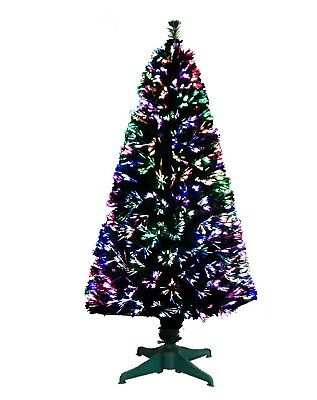 Christmas Tree Green Fibre Optic Led Multi Color Changing Lights Free Holiday & Seasonal Décor