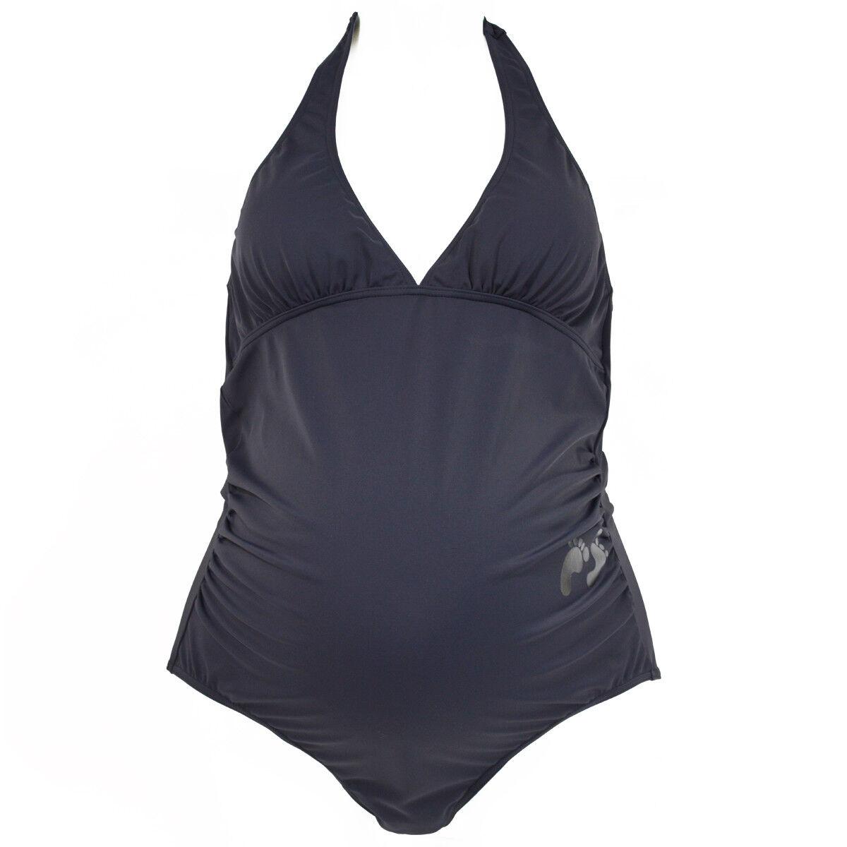 1a137ec253 Splash About Maternity Swimming Costume Little Feet Black 10 12 14 ...