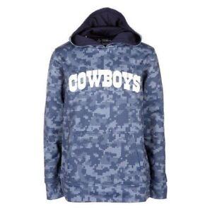 Image is loading Dallas-Cowboys-Youth-Boys-Zaide-Pullover-Hoody-Camo- c0e8a07f4